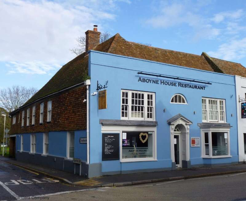 Commercial Property for sale in Aboyne House Restaurant, High Street, New Romney, Kent, TN28 8AT