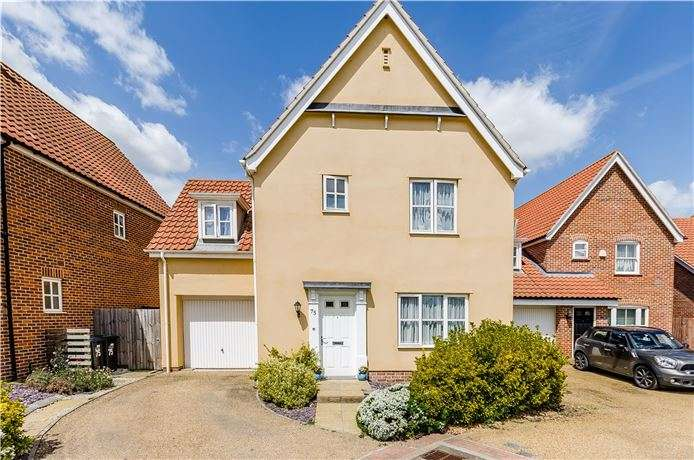 3 Bedrooms Detached House for sale in Cyprian Rust Way, Soham