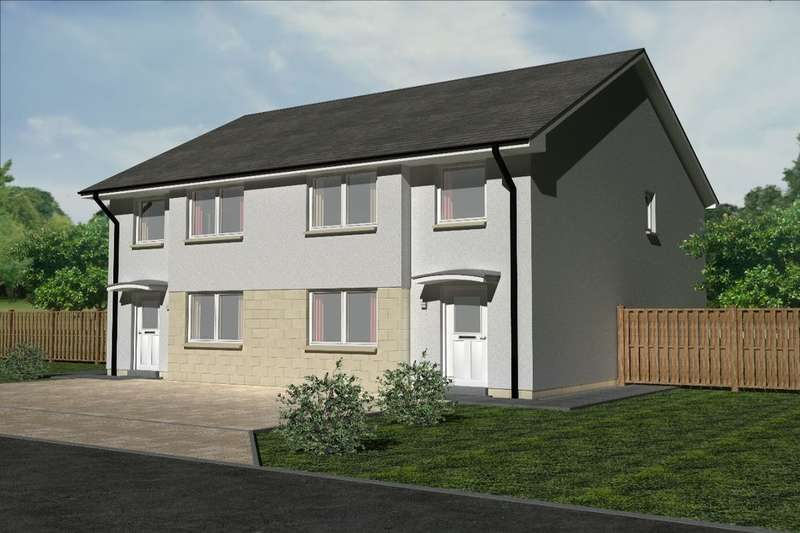 4 Bedrooms Semi Detached House for sale in The Glen, Coalsnaughton, Tillicoultry, FK13