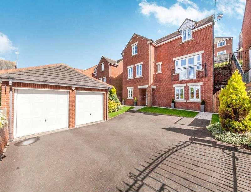 4 Bedrooms Detached House for sale in Kedleston Close, Tunstall Grange, Sunderland, SR2