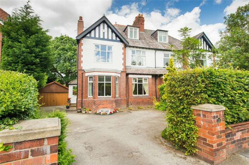 5 Bedrooms Semi Detached House for sale in Broadoak Road, Worsley, Manchester