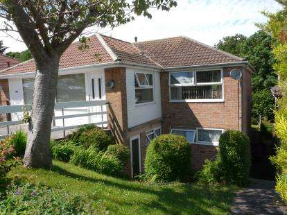 3 Bedrooms Semi Detached House for sale in Roselands, Paignton, Devon