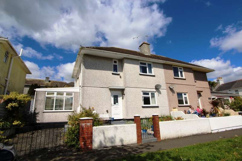 3 Bedrooms Semi Detached House for sale in Marine Drive , Torpoint