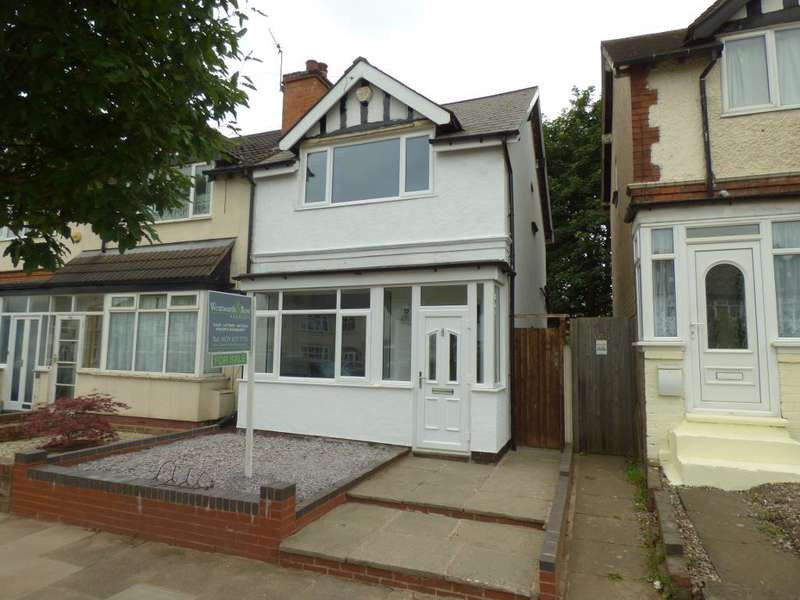 2 Bedrooms End Of Terrace House for sale in Balden Road, Harborne, Birmingham, B32 2EP