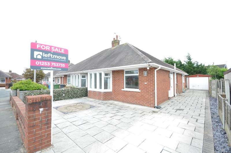 2 Bedrooms Semi Detached Bungalow for sale in Kingsley Close, Thornton Cleveleys, Lancashire, FY5 2HG