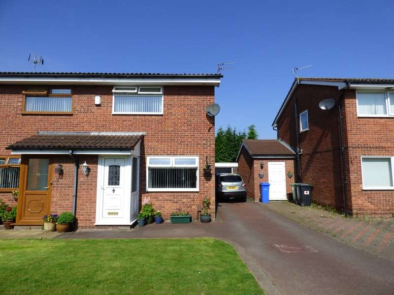 2 Bedrooms Semi Detached House for sale in Chedworth Drive, Widnes, Cheshire, WA8