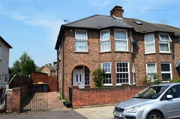 3 Bedrooms Semi Detached House for sale in Honey Hill Road, Bedford