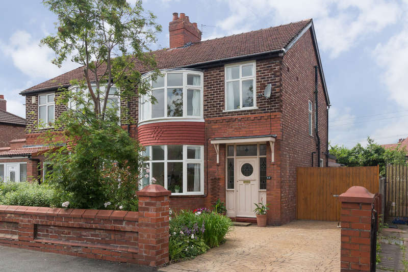 3 Bedrooms Semi Detached House for sale in Burnage Lane, Burnage