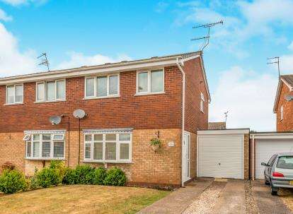 3 Bedrooms Semi Detached House for sale in The Bramblings, Wildwood, Stafford, Staffordshire