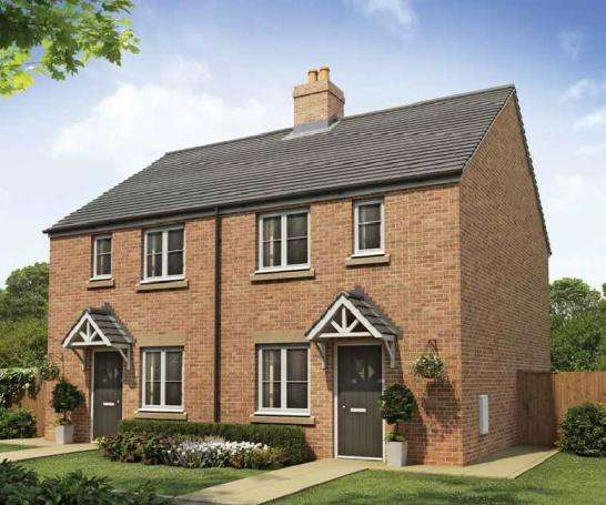 3 Bedrooms Terraced House for sale in The Dadford (Plot 143), High Mill, Off Field Lane, Scalby, Scarborough, YO13 0BG