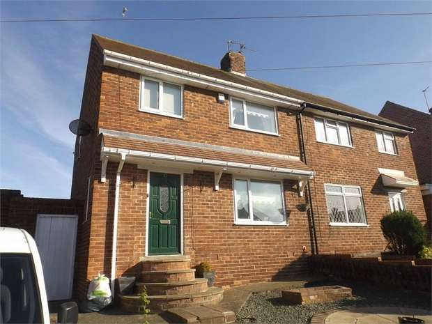 3 Bedrooms Semi Detached House for sale in Ravensworth, Sunderland, Tyne and Wear