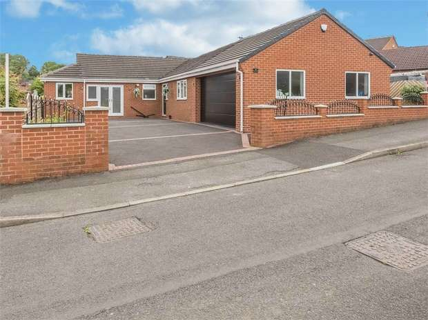 4 Bedrooms Detached Bungalow for sale in Fackley Way, Stanton Hill, Sutton-in-Ashfield, Nottinghamshire