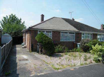 2 Bedrooms Bungalow for sale in Westbourne Avenue, Crewe, Cheshire