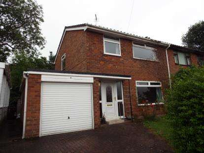 3 Bedrooms Semi Detached House for sale in Kingsway, Hope, Wrexham, Flintshire, LL12