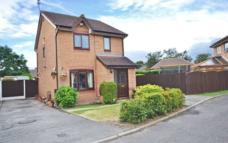 3 Bedrooms Detached House for sale in Parkinson Close, Eastmoor, Wakefield