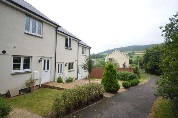 2 Bedrooms Terraced House for sale in Betjeman Close, Sidmouth, Devon