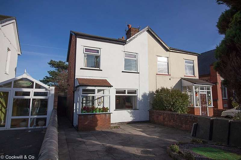 2 Bedrooms Semi Detached House for sale in Canning Road, Southport. PR9 7SS