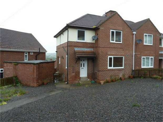 3 Bedrooms Semi Detached House for sale in Burnhopeside Avenue, Lanchester, Durham