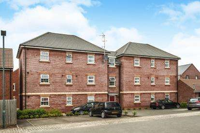 2 Bedrooms Flat for sale in Laurel Drive, Brockworth, Gloucester, Gloucestershire