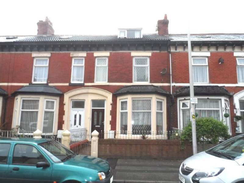 5 Bedrooms Terraced House for sale in St Heliers Road, Blackpool, FY1 6JF
