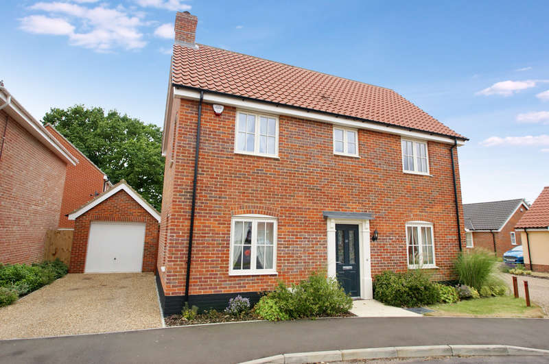 3 Bedrooms Detached House for sale in Trafford Way, Spixworth