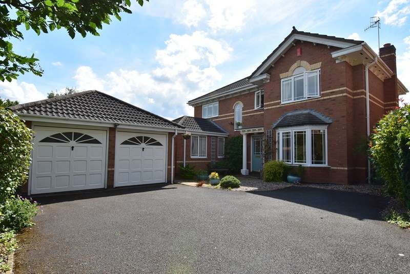 4 Bedrooms Detached House for sale in Geoffrey Chaucer Walk, Droitwich