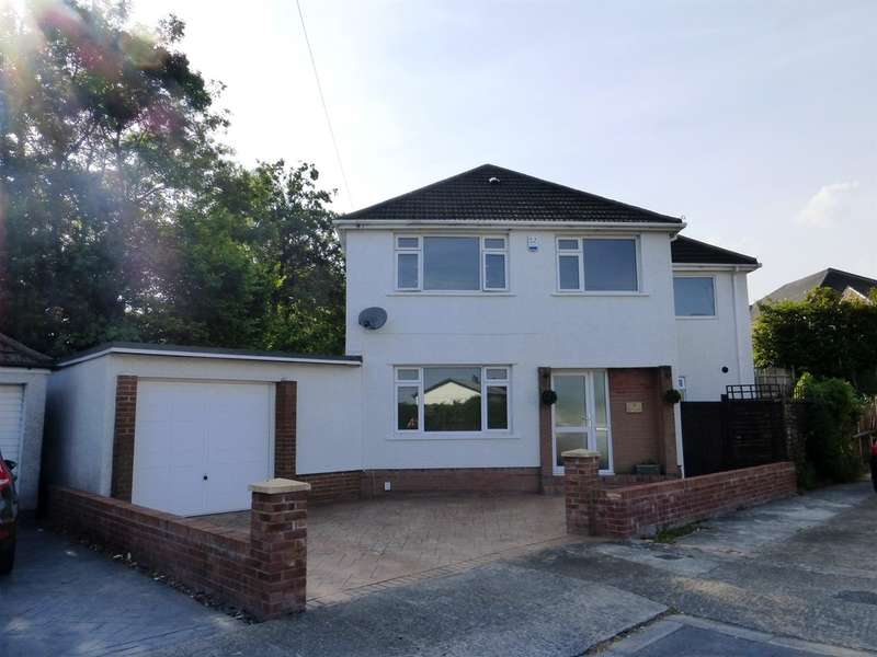 4 Bedrooms Detached House for sale in Ty Fry Close, Rumney, Cardiff
