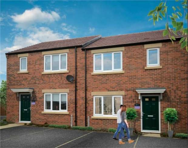 3 Bedrooms Terraced House for sale in PLOT 83, Eden Field, Newton Aycliffe, Durham