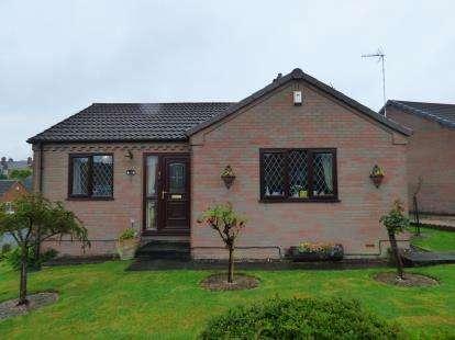 2 Bedrooms Bungalow for sale in Fackley Way, Sutton-In-Ashfield, Nottinghamshire