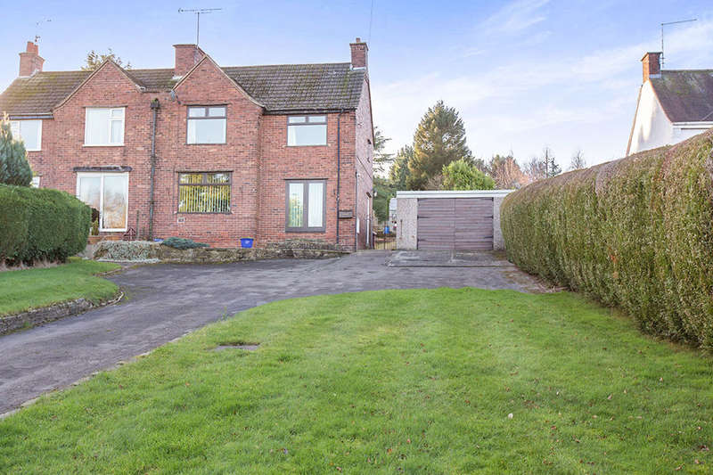 3 Bedrooms Semi Detached House for sale in Derby Road, CHESTERFIELD, S42