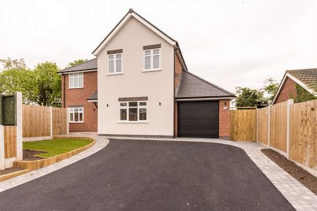 4 Bedrooms Detached House for sale in 64b Micklehome Drive, Alrewas, Burton upon Trent, Staffordshire