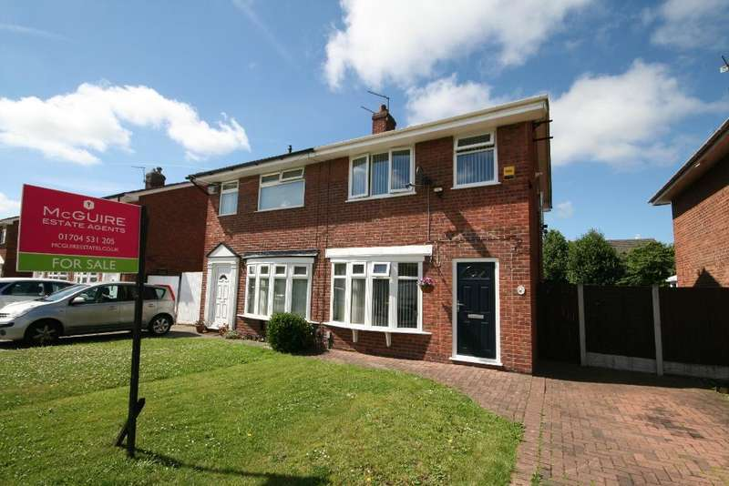 3 Bedrooms Semi Detached House for sale in Sawdon Avenue, Kew, Southport, PR8 6HU