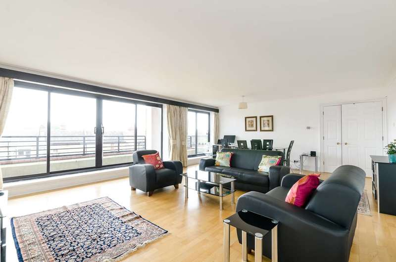 3 Bedrooms Flat for sale in Pembroke Road, South Kensington, W8