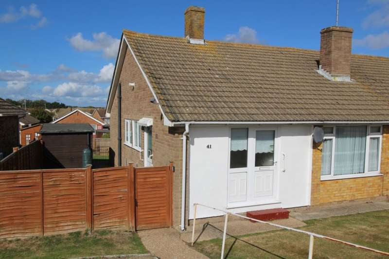 2 Bedrooms Semi Detached Bungalow for sale in Netherfield Avenue, Eastbourne, BN23
