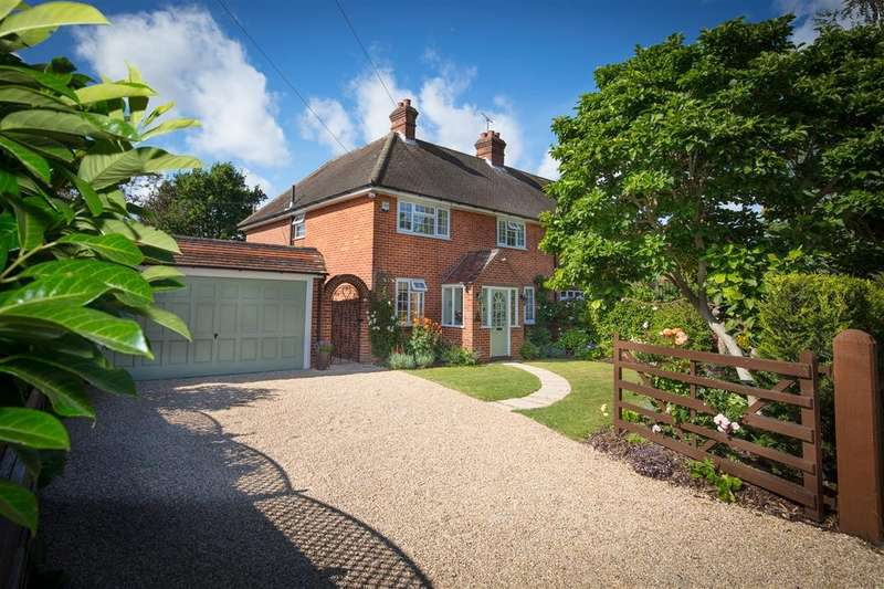 4 Bedrooms Semi Detached House for sale in Shortheath Lane, Sulhamstead, Reading, RG7