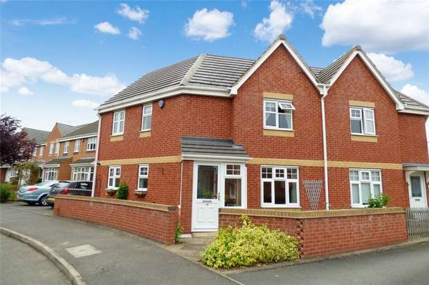3 Bedrooms Semi Detached House for sale in Sunflower Drive, Bermuda Park, Nuneaton, Warwickshire