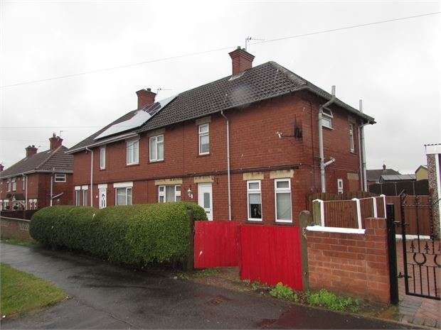 3 Bedrooms Semi Detached House for sale in Conan Road, Conisbrough, Doncaster, DN12 2NG