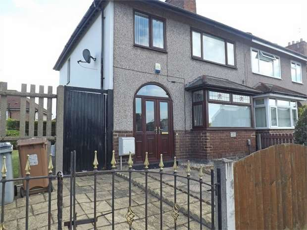 3 Bedrooms Semi Detached House for sale in Poulton Road, Wallasey, Merseyside