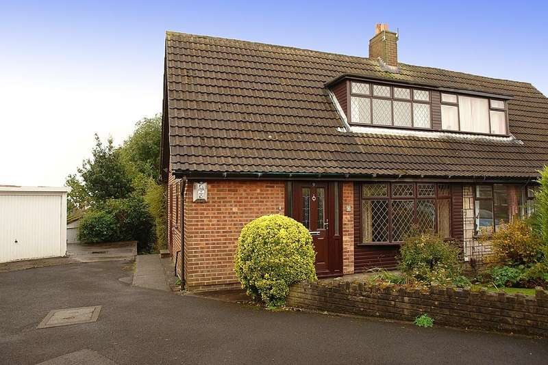 3 Bedrooms Semi Detached Bungalow for sale in 9 Glenavon Drive, Shaw
