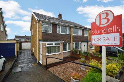 3 Bedrooms Semi Detached House for sale in Pembroke Crescent, High Green, Sheffield, South Yorkshire