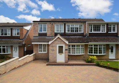 3 Bedrooms Semi Detached House for sale in Hodder Court, Chapeltown, Sheffield, South Yorkshire