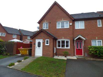 3 Bedrooms Semi Detached House for sale in Saxon Way, Liverpool, Merseyside, Uk, L33