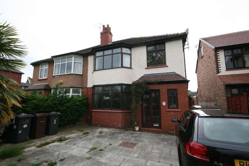 4 Bedrooms Semi Detached House for sale in Cambridge Avenue, Churchtown, Southport, PR9 9SA
