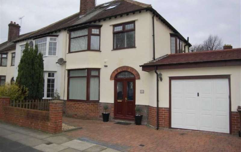 3 Bedrooms Semi Detached House for sale in Crosby, Liverpool