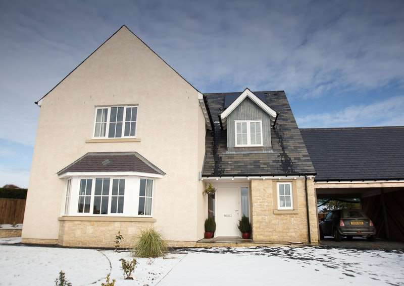 4 Bedrooms Detached House for sale in East Mains, Gordon, Berwickshire, TD3