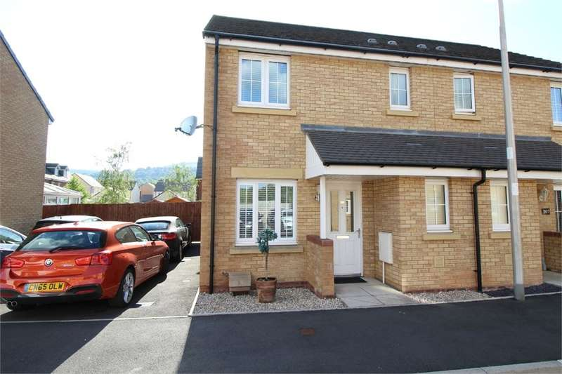3 Bedrooms Semi Detached House for sale in Parc Panteg, Griffithstown, Pontypool, NP4