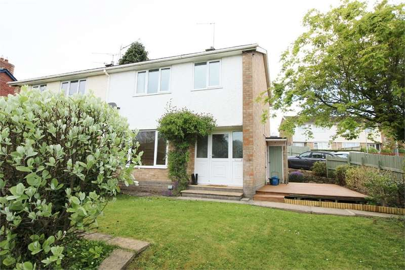 3 Bedrooms Semi Detached House for sale in Brynhyfryd Close, Little Mill, Pontypool, NP4