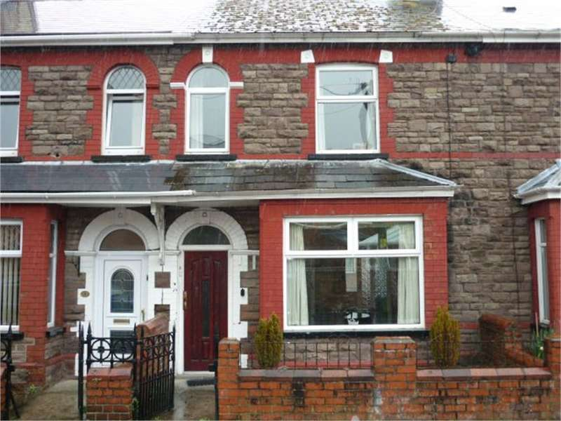 2 Bedrooms Terraced House for sale in Grove Terrace, Pontnewynydd, Pontypool, NP4