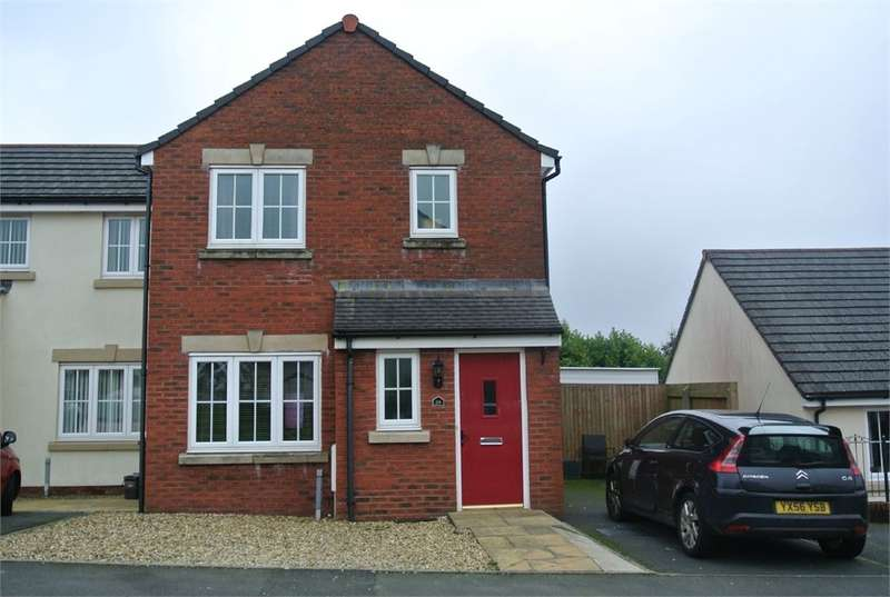 3 Bedrooms End Of Terrace House for sale in Brynamlwg, Talywain, PONTYPOOL, NP4