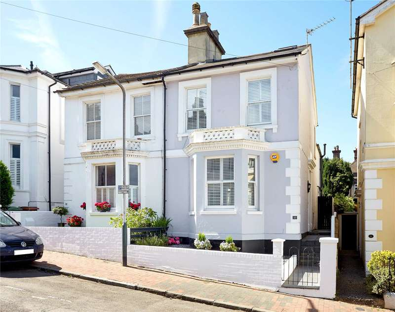 4 Bedrooms Semi Detached House for sale in Cambridge Street, Tunbridge Wells, Kent, TN2